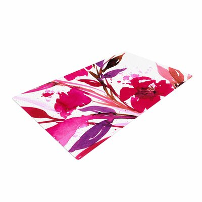 Ebi Emporium Pocket Full of Posies 11 Nature/Pink Area Rug