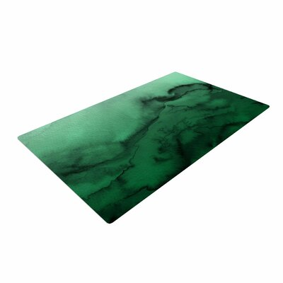 Ebi Emporium Winter Waves 7 Green/Black Area Rug