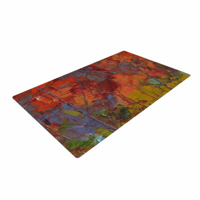 Jeff Ferst Fall Colours Painting Red Area Rug