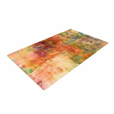 Ebi Emporium Hazy Olive/Orange Area Rug
