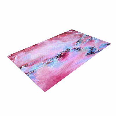 Ebi Emporium Sea to Sky 3 Abstract Pink Area Rug Rug Size: 4 x 6