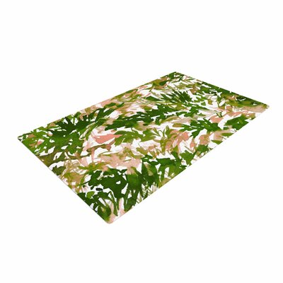 Ebi Emporium In the Meadow 2 Green/White/Pink Area Rug
