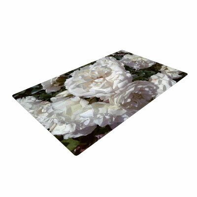 Julia Grifol Flores Blancas White/Nature Area Rug