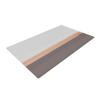 Spring Swatch Wood Gray Area Rug Rug Size: 2 x 3