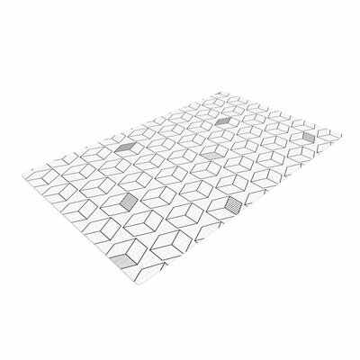 Shade Cubed Gray/White Area Rug