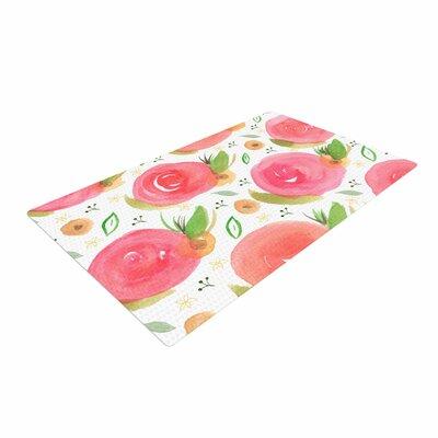 Li Zamperini Florale Pink/Green Area Rug Rug Size: 2 x 3