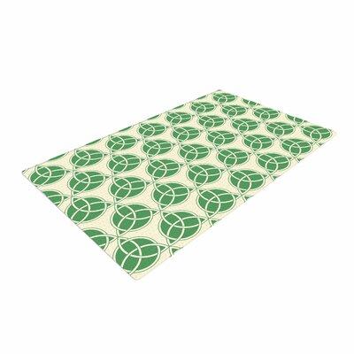 Celtic - Pattern Green/Beige Area Rug