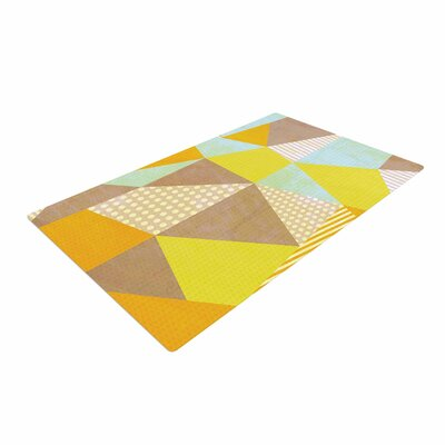 Louise Machado Geometric Pastel/Yellow Area Rug