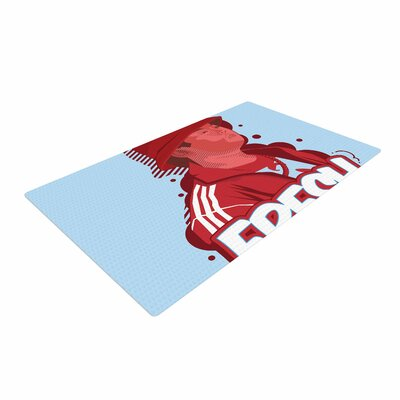 Just L F.O.B Blue/Red Area Rug