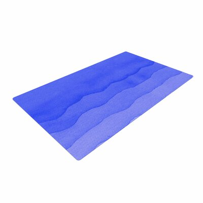 Berry Digital Blue/Ombre Area Rug