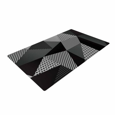 Louise Machado Pallete Black/Gray Area Rug