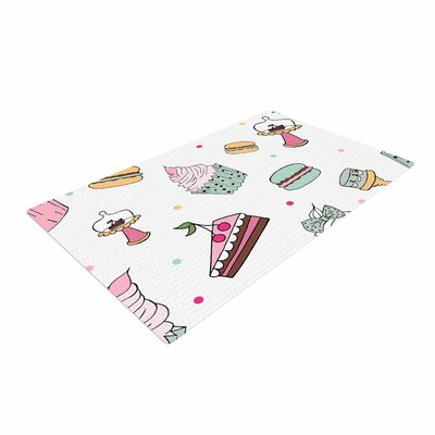 Louise Sweet Sweet Cake Food Pastel Area Rug