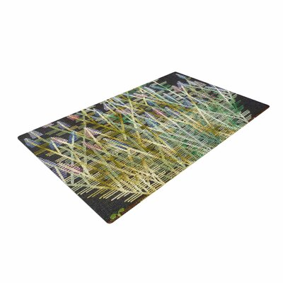 Laura Nicholson Russian Sage Green/Yellow Area Rug