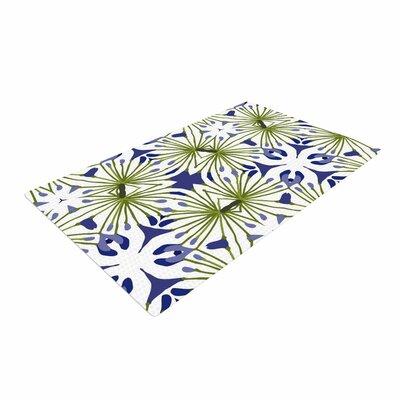 Laura Nicholson Thalia Floral Olive Area Rug