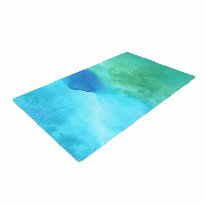 Li Zamperini Marine Green/Blue Area Rug