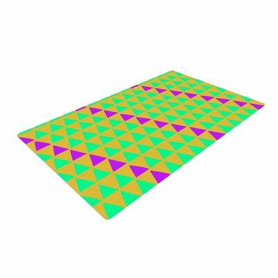 Matt Eklund Fiesta Teal/Purple Area Rug Rug Size: 2 x 3