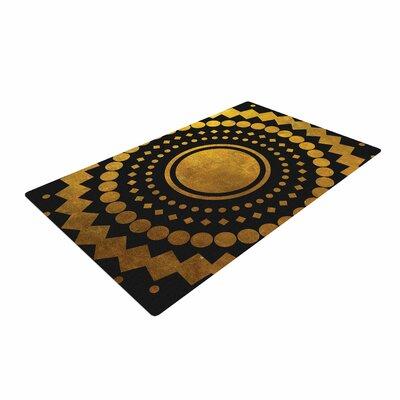 Matt Eklund Gilded Confetti Geometric Gold Area Rug