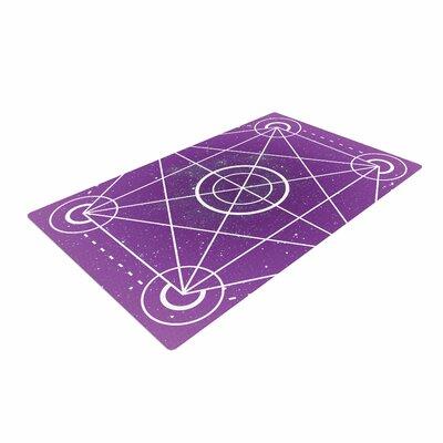 Matt Eklund Dalaran Geometric Purple Area Rug