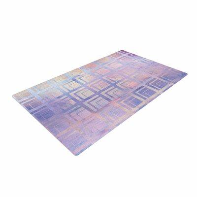 Matt Eklund Tiled Dreamscape Pink/Purple Area Rug