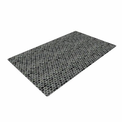 Petit Griffin Marble Abstract Gray Area Rug