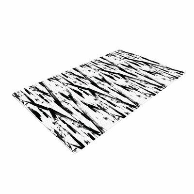 Metka Hiti Strokes Black/White Area Rug
