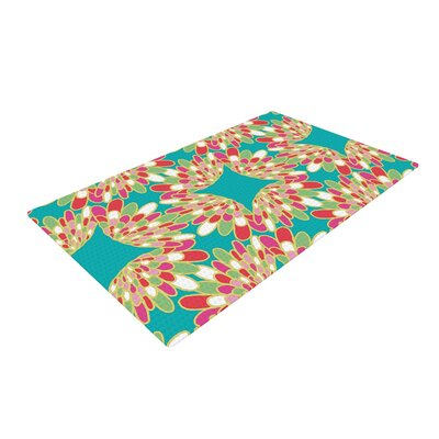 Miranda Mol Wings Green/Teal Area Rug