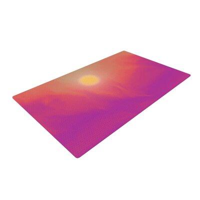 Michael Sussna Yosemite Dawn Pink/Orange Area Rug