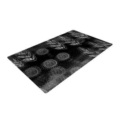 Marianna Tankelevich Dream Black/Gray Area Rug Rug Size: 2 x 3