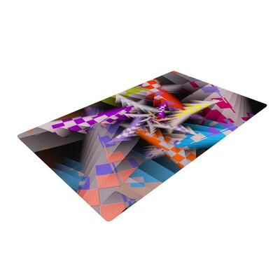 Michael Sussna Sticker Thicket Multicolor Area Rug
