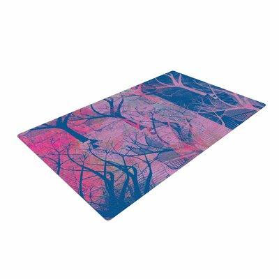 Marianna Tankelevich Fantasy Garden Pink/Blue Area Rug