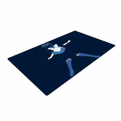 NL Designs Mercury Senshi Blue/White Area Rug