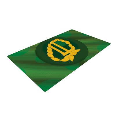 NL Designs Jupiter Emerald Area Rug Rug Size: 2 x 3