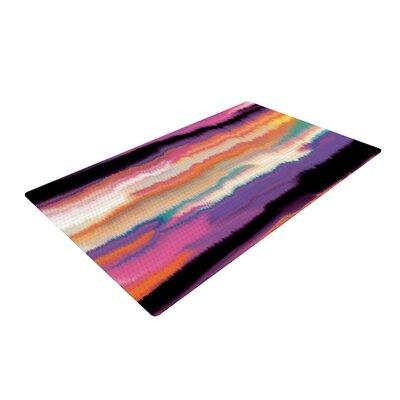Nina May Artika Sunset Purple/Orange Area Rug Rug Size: 2 x 3