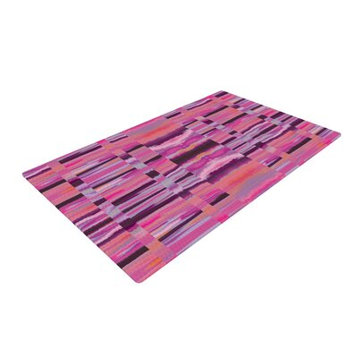 Nina May Samanna Coral Tribal Pink Area Rug Rug Size: 4 x 6