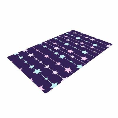 NL Designs Twinkle Twinkle LIttle Star Purple/Pastel Area Rug