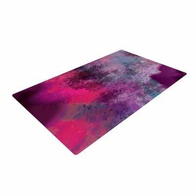 Nina May Mineral Watercolor Purple/Pink Area Rug
