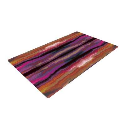 Nina May Sola Color Pink/Orange Area Rug Rug Size: 2 x 3