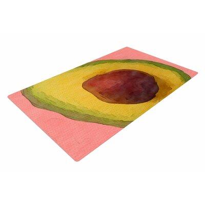 Oriana Cordero Avocado For Lola Green/Pink Area Rug