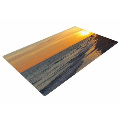 Philip Brown Sunset Beach Coral/Gold Area Rug