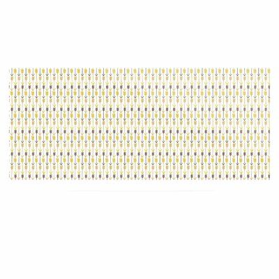 'Golden Arrows' Graphic Art Print on Metal EAOU6603 38969449