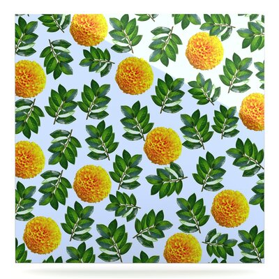 "'More Marigold' Graphic Art Print on Metal Size: 8"" H x 8"" W x 1"" D EAOU8605 38976907"