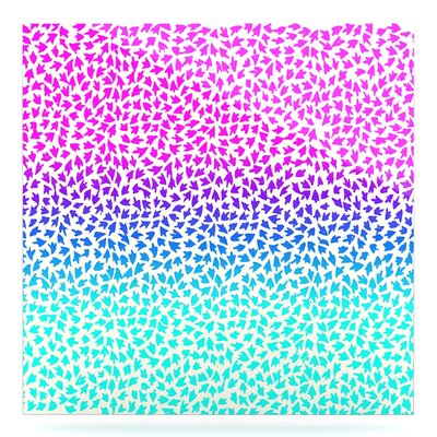 'Ombre Arrows' Graphic Art Print on Metal EAOU8748 38977301