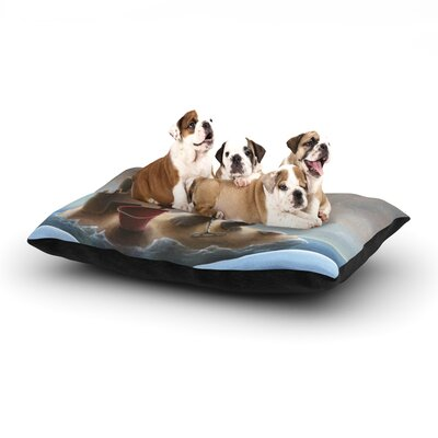 Graham Curran Grover Dog Pillow with Fleece Cozy Top Size: Small (40 W x 30 D x 8 H)