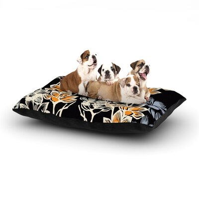 Gill Eggleston Crocus Dog Pillow with Fleece Cozy Top Size: Small (40 W x 30 D x 8 H)