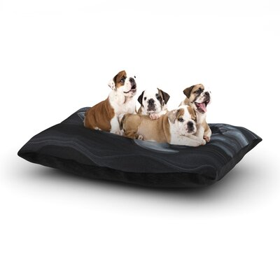 Graham Curran Troubled Joe Dog Pillow with Fleece Cozy Top Size: Large (50 W x 40 D x 8 H)