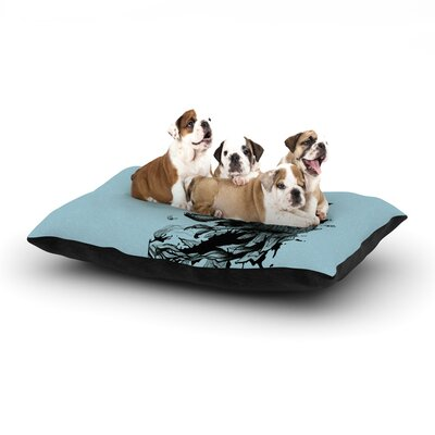 Graham Curran The Blanket Dog Pillow with Fleece Cozy Top Size: Small (40 W x 30 D x 8 H), Color: Blue