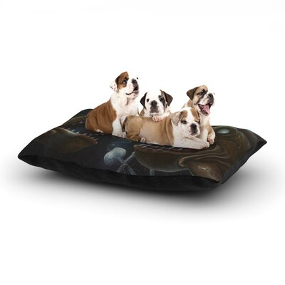 Graham Curran Sink or Swim Dog Pillow with Fleece Cozy Top Size: Large (50 W x 40 D x 8 H)