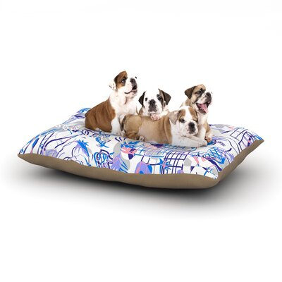 Gabriela Fuente She Dog Pillow with Fleece Cozy Top Size: Large (50 W x 40 D x 8 H)