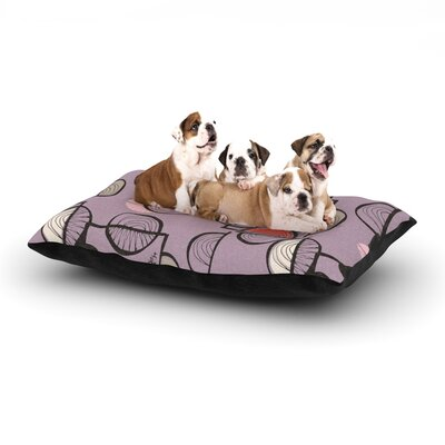 Gill Eggleston Emmanuel Dog Pillow with Fleece Cozy Top Size: Large (50 W x 40 D x 8 H)