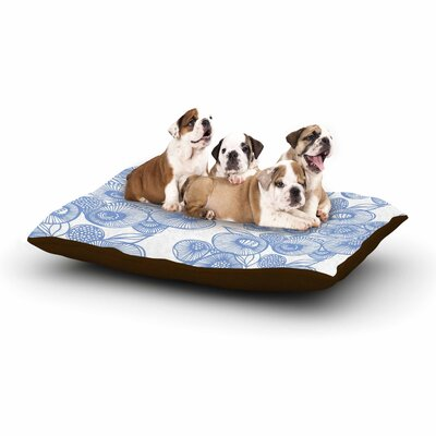 Gill Eggleston Eastern Promise Dog Pillow with Fleece Cozy Top Size: Small (40 W x 30 D x 8 H)